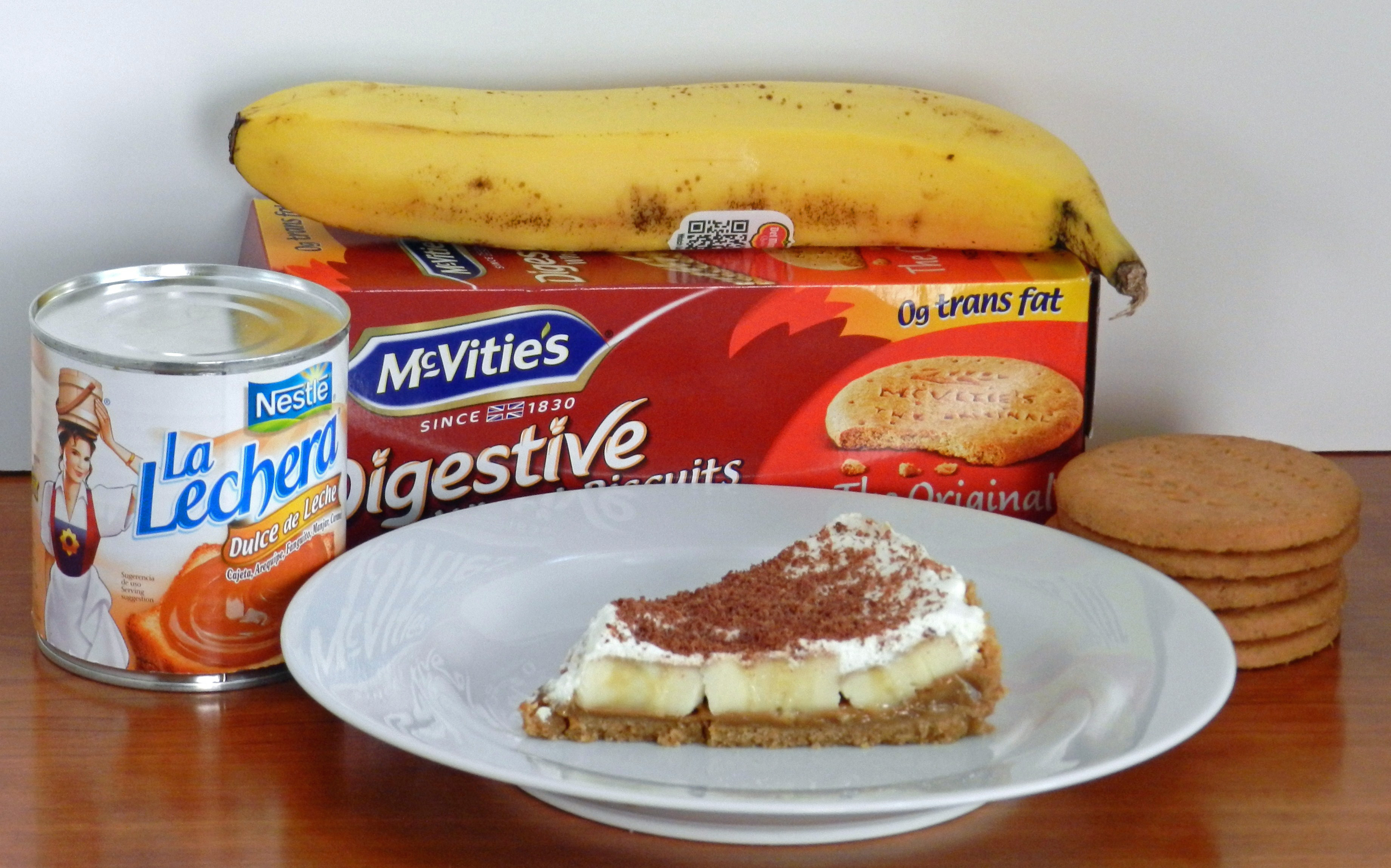 f46666a5b13 What does a born-and-raised Southern woman make for a going away dinner for  a friend from the UK  A banoffee pie