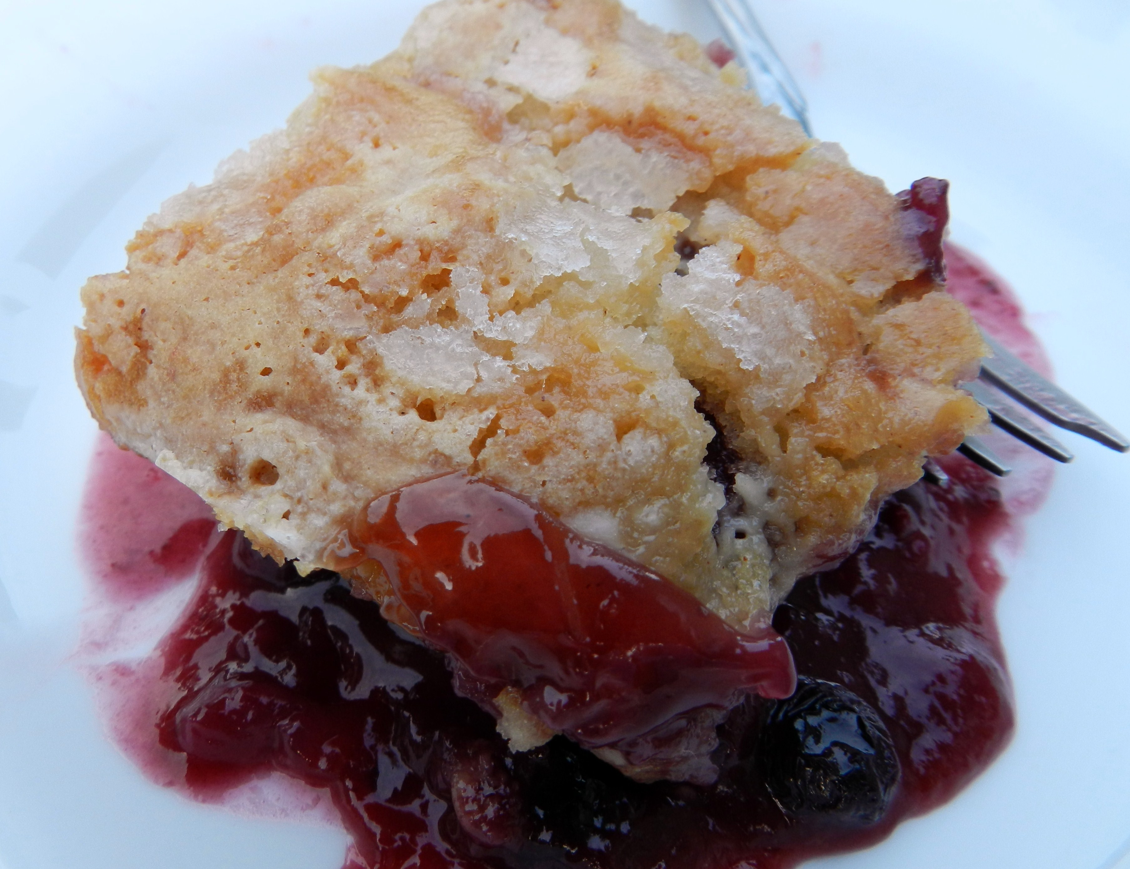 Basic Berry Cobbler Recipe — Dishmaps